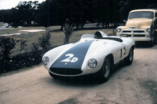 Phil Hill's Winner: Ferrari Monza at Pebble Beach, 1955