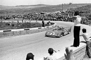 Cheering for Ferrari: Targa Florio in Sicily, May, 1972