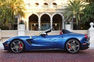 First Ferrari F60 Delivered at the 25th Cavallino Classic