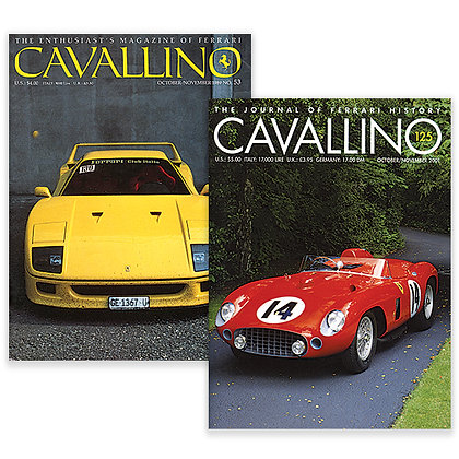 F40 LM Major Articles: Back Issues Special Bundle
