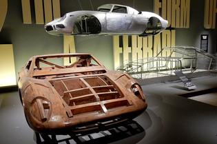 Ferrari Under the Skin Exhibition Delights London