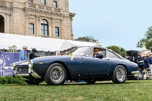 250 GT Lusso Wins Excellence in Design Trophy at Audrain Concours