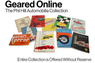 Bid Now: The Phil Hill Automobilia Collection at Gooding & Co.