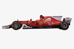 7 Decades of Ferrari F1 Evolution in One Bellissimo GIF