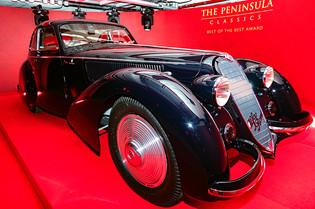 Touring Berlinetta Alfa Wins Peninsula Best of the Best
