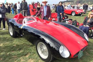 Rare Ferraris Compete at Important Pebble Beach Concours