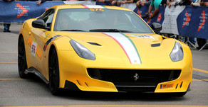 Ferrari Tribute at the Mille Miglia Historic 2018