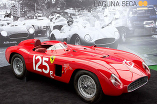 Ferrari Testa Rossa Takes First Ever Laguna Seca Race