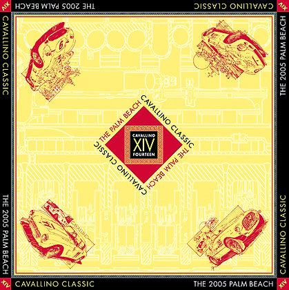 Cavallino Classic 14th Anniversary Silk Scarf