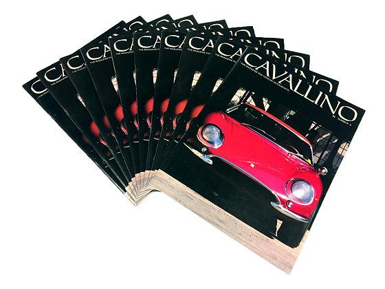 Cavallino Issue #9 (Jan/Feb 1980) - Original, Mint Condition