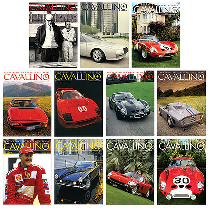 250 GTO Major Articles: Back Issues Special Bundle
