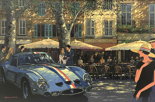 Masterwork Ferrari GTO Painting Offered for First Time