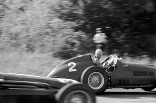 Alberto Ascari's Victory Smile: Italian Grand Prix, 1951