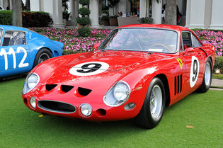 330 LMB Gets Major Attention at the Cavallino Classic