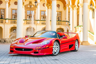"""1995 F50 """"Supercar"""" Offered by RM Monterey"""