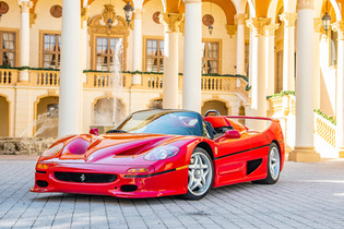 "1995 F50 ""Supercar"" Offered by RM Monterey"