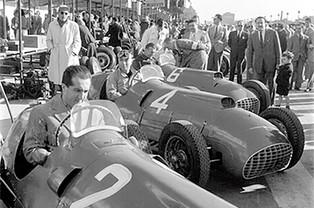 In Their Cockpits: Ferraris in Barcelona, September 1950