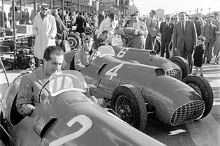 In Their Cockpits: Ferraris in Barcelona, September 1950