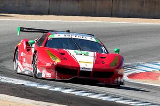 Ferrari GT Victorious at Laguna Seca Raceway