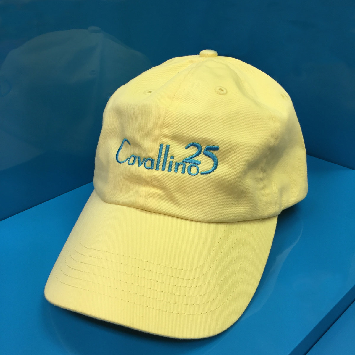 25 30 Anniversary Cap: Cavallino Classic 25th Anniversary Baseball Cap