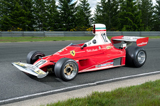 Extremely Rare Niki Lauda-Driven 312 T at  Gooding Monterey