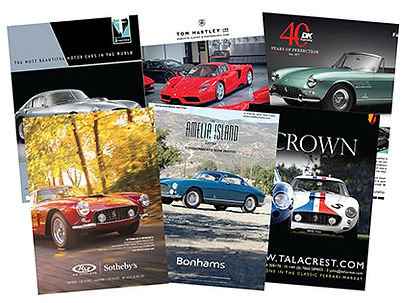 Various ads from past issues of Cavallino