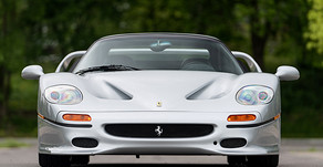 Rare 1995 Ferrari F50 Offered at Gooding Geared Online Auction