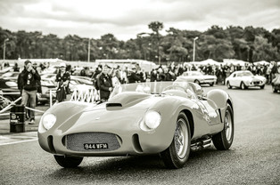 Peter Auto Celebrates Le Mans Ferraris at Chantilly