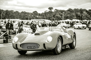 Peter Auto Celebrates Le Mans Ferraris at Chantilly