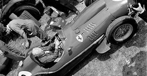The Ferrari 246F1 Dino at Silverstone, June 1958
