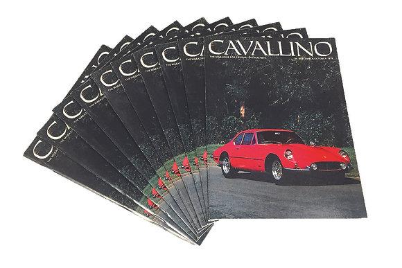 Cavallino Issue #7 (Sep/Oct 1979) - Original, Perfect Condition