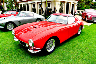 Very First 250 GT SWB at the Cavallino28 Concorso