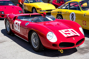 Ferrari Challenge Racing & Concours in Monterey