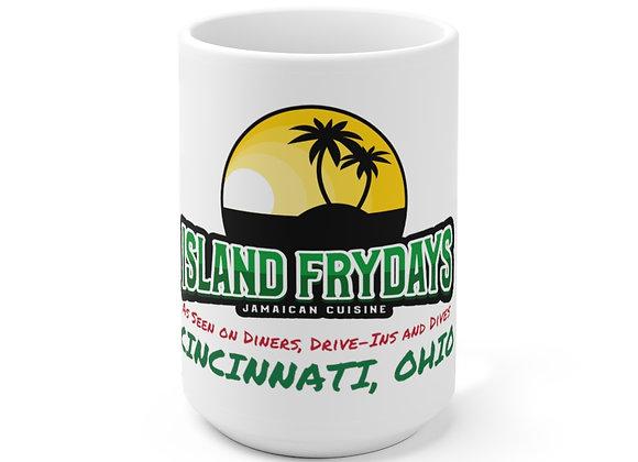 Island Frydays 15oz Ceramic Mug