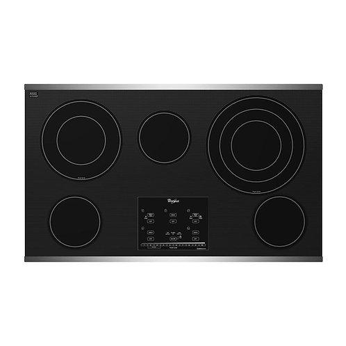 "Parrilla Empotrable de Cocina Whirlpool Electrica G9CE3675XS de 91 cms (36"")"