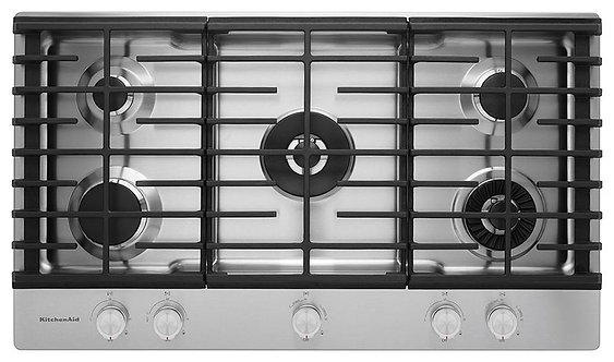 """Parrilla Gas KitchenAid KCGS956ESS de 92 cm (36"""") Acero Inoxidable"""