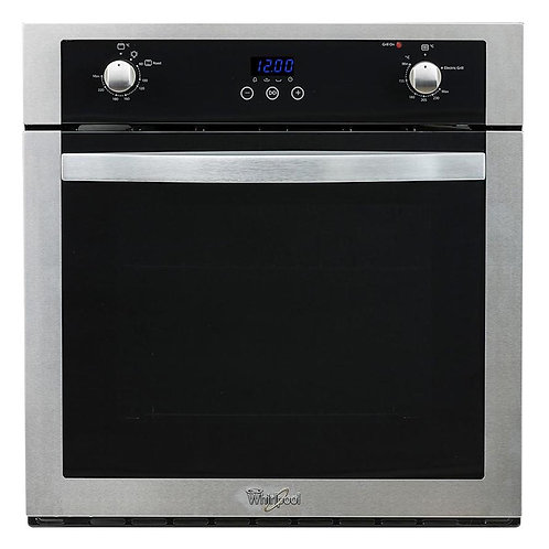 Horno Gas Empotrable Pared Whirlpool WOA205S 60 cm