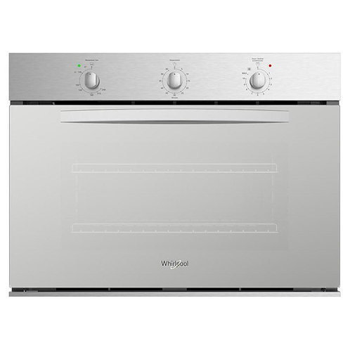 Horno de Gas Empotrable de Pared Whirlpool WOA301S de 80 cm