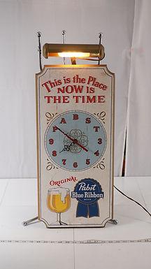 Advertising Wall Clock - Pabst Blue Ribbon Beer