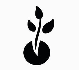 plant-growth-icon-on-black-and-white-vec