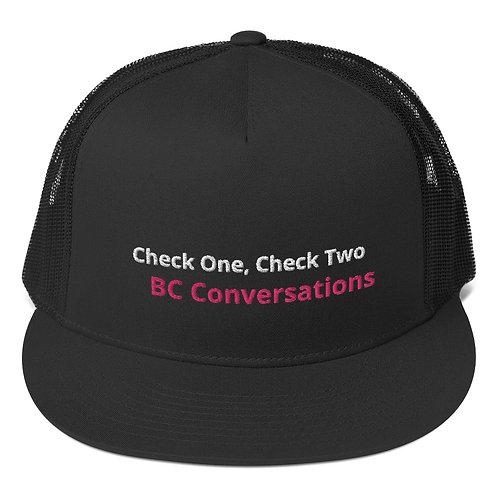 Trucker Cap BC Conversations