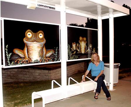 Taylor - City of Brea Bus Stop Mural cop