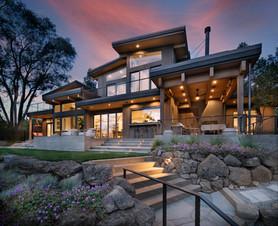 Bend Riverfront Home