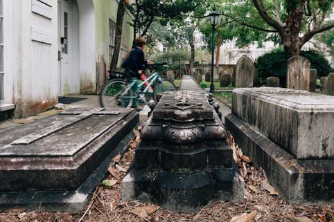 Charleston churches and graveyard