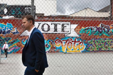 Vote Mural in SFO