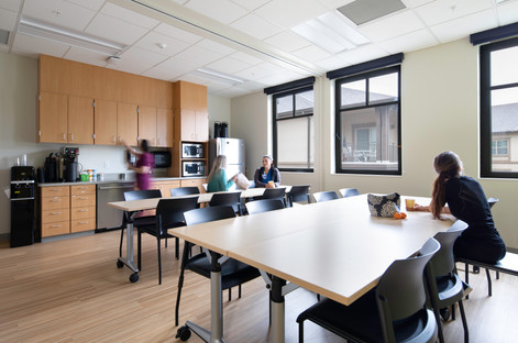Breakroom at Providence Clinic
