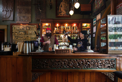 O'Kanes Cigar Bar at McMenamins Old St. Francis