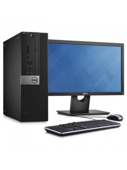 EQUIPO COMPLETO: Dell optiplex, Core I5 6gen, Ram 8gb, SSD 128gb, Monitor 22¨