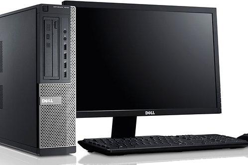"""EQUIPO COMPLETO CPU DELL OPTIPLEX 3020 CON MONITOR DE 19"""""""