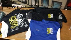 Pool team polo shirts